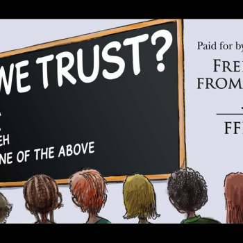 """Atheist Billboards in Kentucky Point Out Obvious Flaw in """"In God We Trust"""" Law"""