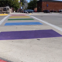 Ames (Iowa) Officials Deny Dodgy Federal Request to Remove Pride Flag Crosswalks