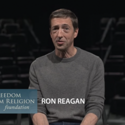 Ron Reagan, Seen in an Atheist Group's Ad, Was a Star of the Democratic Debate
