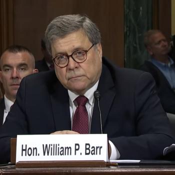 "AG William Barr Blames Societal Problems on ""Ascendancy of Secularism"""
