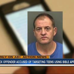 Florida Sex Offender Arrested After Using Popular Bible App to Contact Girls
