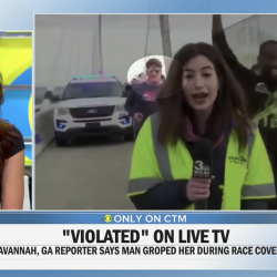 The Man Who Slapped a Female Reporter's Butt on TV is a Christian Youth Leader