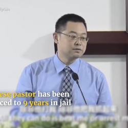 """China Sentences Pastor to Nine Years in Prison for """"Subverting State Power"""""""