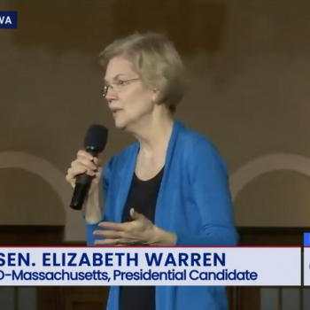 "Elizabeth Warren Was Asked About Her Plan to Protect ""the Rights of Atheists"""