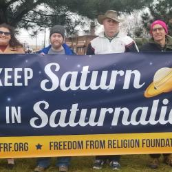 """Warren (MI) is Home, Once Again, to a Sign Reading """"Keep Saturn in Saturnalia"""""""