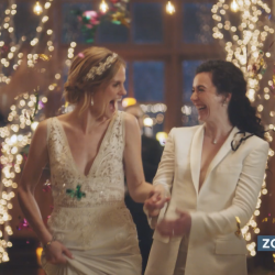 Christian Moms Group Condemns Hallmark Channel for Airing Lesbian Wedding Ad