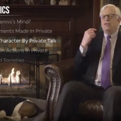 """Dennis Prager: A Private Conversation Isn't """"an Accurate Indicator"""" of Character"""