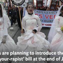 "Women's Rights Campaigners Resist ""Marry-Your-Rapist"" Bill in Turkey"