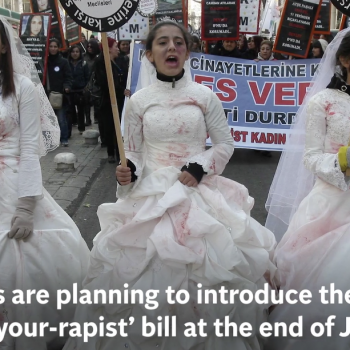 "Women's Rights Campaigners Resist ""Marry-Your-Rapist"" Bill in Turkey"