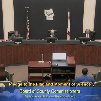 Controversy Ensues After FL Official Offers Prayer During Moment of Silence