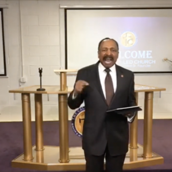 """E.W. Jackson: If People Believe in God, They """"Don't Have To"""" Catch COVID-19"""