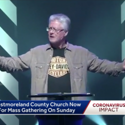 Pennsylvania Pastor Apologizes After Holding Sunday Services During Pandemic