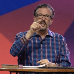 Pastor Checks-His-Phone Warns Atheists: Stop Dragging People to Hell!