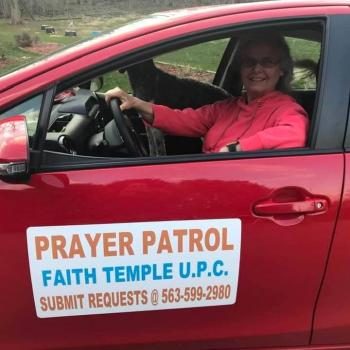 """Christian Prayer Patrol Drives All Over Dubuque to """"Let Loose Angels"""""""