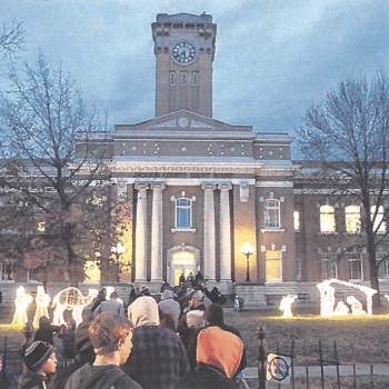 Appeals Court: For Now, a Nativity Scene Can Go Up Outside an Indiana Courthouse