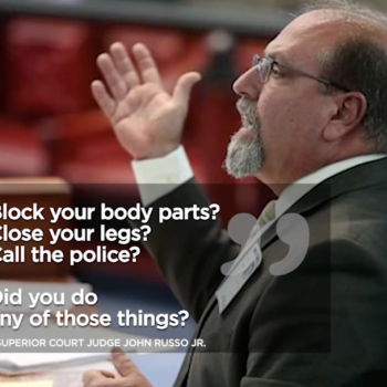 "NJ Judge Who Advised Sexual Assault Victim to ""Close Your Legs"" Kicked Off Bench"