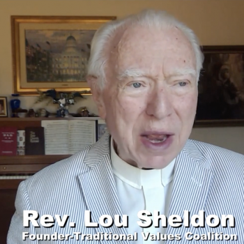 """Rev. Louis Sheldon, Who Fiercely Battled """"the Homosexual Agenda,"""" Is Dead at 85"""