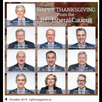 BC Liberal Ad Campaign Pours Funding into Anti-LGBTQ Christian Magazine