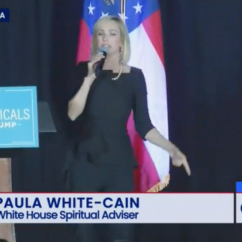 "Paula White to Evangelicals: America's Enemies ""Will Take God Out of Everything"""