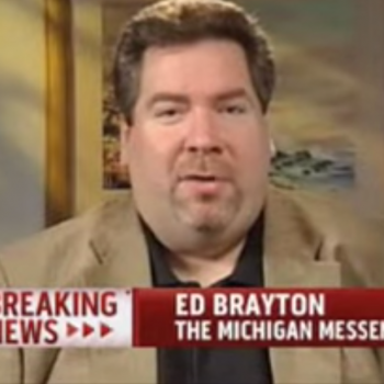 There Will Be a Virtual Memorial Service for Our Friend Ed Brayton Later Today