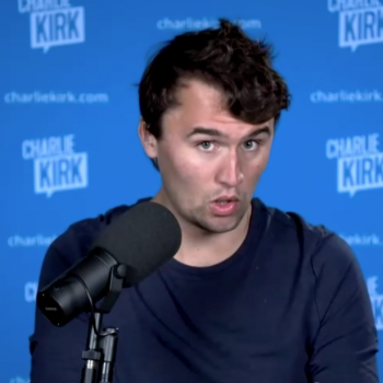"""Liar Charlie Kirk: If Biden Wins, """"They're Going to Come After the Churches"""""""