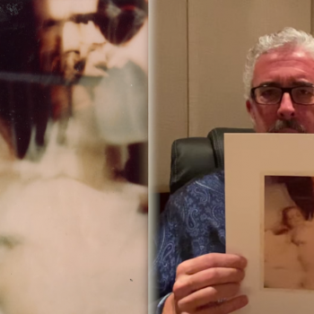 Pastor: This Blurry Picture from 1980 Shows Jesus Standing By a Hospital Bed