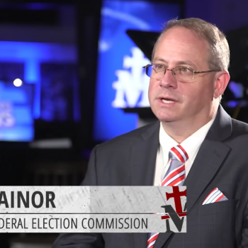Chair of Federal Election Commission Endorses Christian Nationalism in Interview