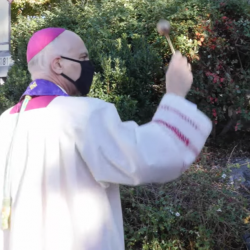 Archbishop Performs Exorcism After Protesters Topple Statue of Junipero Serra