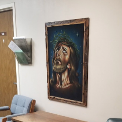 Atheists Call for Removal of Jesus Painting from Shreveport (LA) Police Dept.