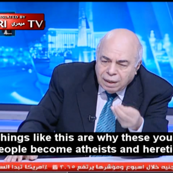 Egyptian Researcher: People Become Atheists Because Holy Books Have Obvious Lies