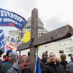 Christian Nationalism Was Front and Center During the Capitol Riots