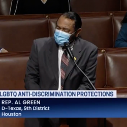 Congressman Defends Equality Act in Stirring Speech, Condemning Christian Bigots