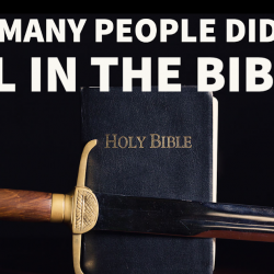 Here's the Definitive Guide to Everyone God Kills in the Bible