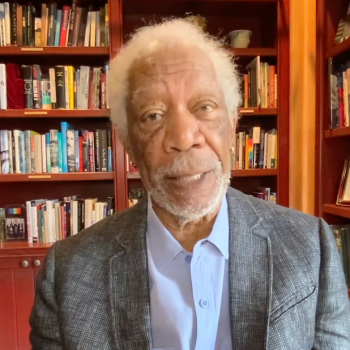 Right-Wing Host Slams Morgan Freeman's Pro-Vaccine Ad Because He's Played God