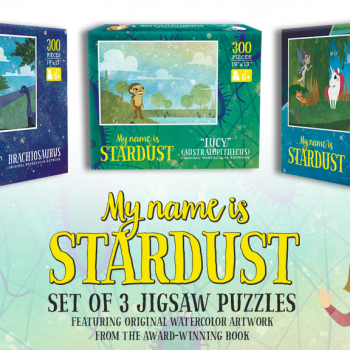 Young Scientists Will Love These Adorable Jigsaw Puzzles