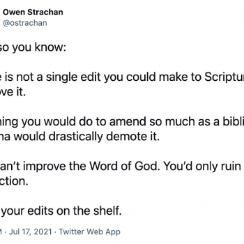 """Theologian: You """"Can't Improve"""" the Bible. Internet: OH YES WE CAN!"""
