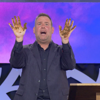 This Pastor Stuck His Hands in Dog Poop to Make Some Weird Point About Sin