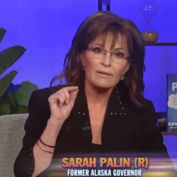 """Sarah Palin's Reason for Not Getting Vaccinated? """"I Believe in Science!"""""""