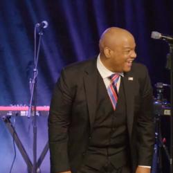 "GOP Candidate Laughs As Church Crowd Yells Anti-Biden Slogan ""Let's Go, Brandon"""