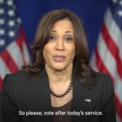 In Video, Kamala Harris Urges VA's Black Churchgoers to Vote for Terry McAuliffe