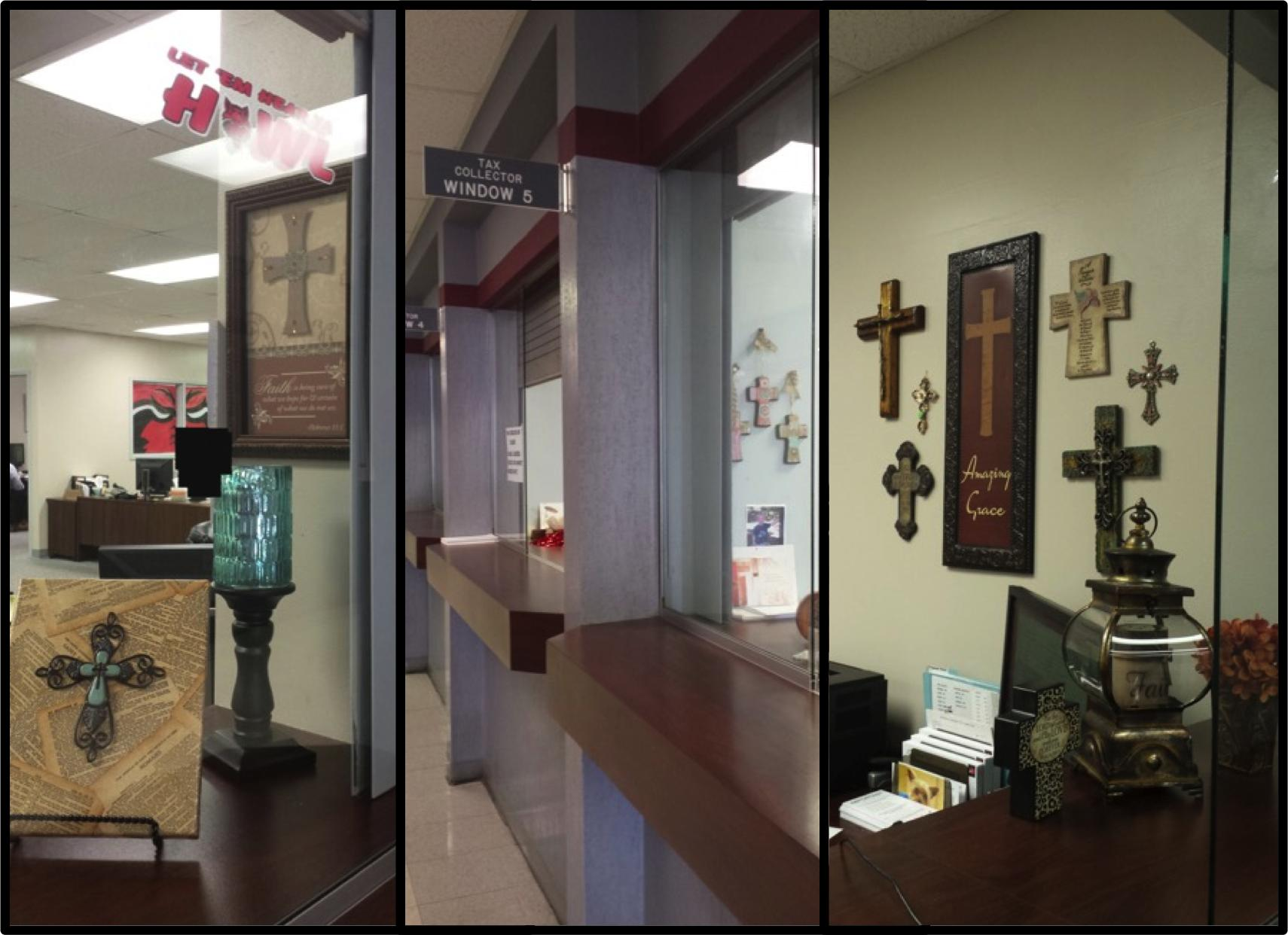 After Removing Christian Crosses from Wall, Arkansas Government Officials Put Them Right Back Up