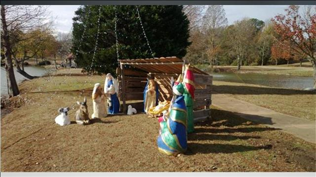 South Carolina Air Force Base Removes Nativity Scene