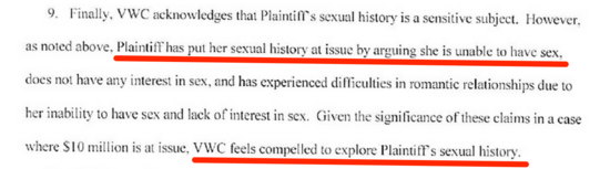 Sexual history does it matter