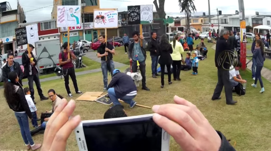 In Colombia, Atheists Protesters Attacked by Catholics in Public Park