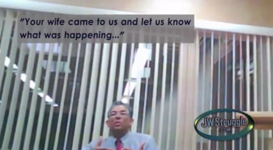 This Guy Secretly Videotaped His Jehovah's Witness Apostasy