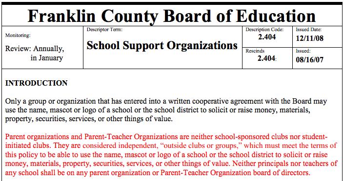 School Board Says Prayer is Allowed at Parent-Teacher