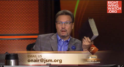 Pastor's Son Donnie Swaggart Says Gay-Rights Activists Are