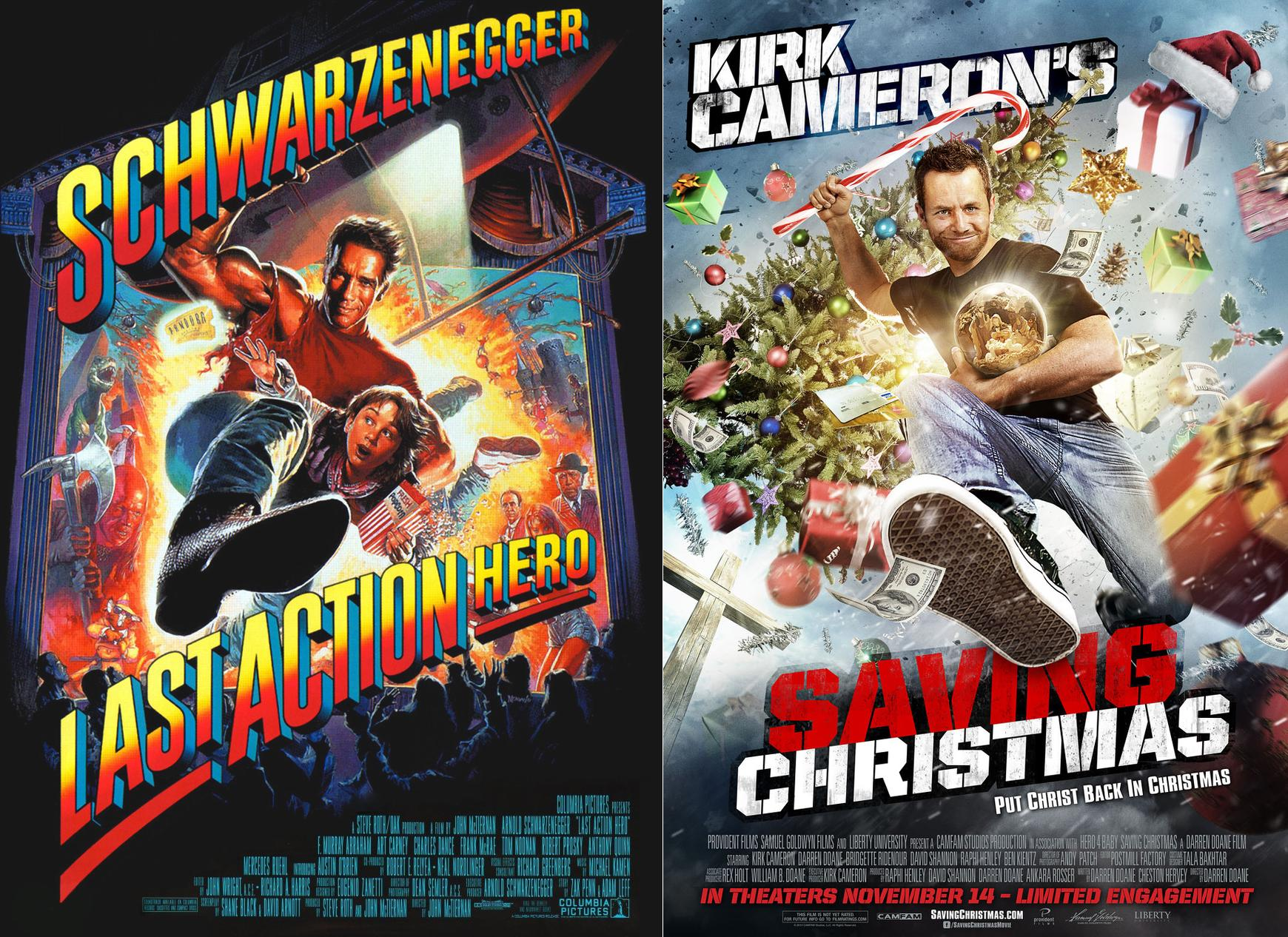 Saving Christmas.Kirk Cameron S Movie Poster For Em Saving Christmas Em