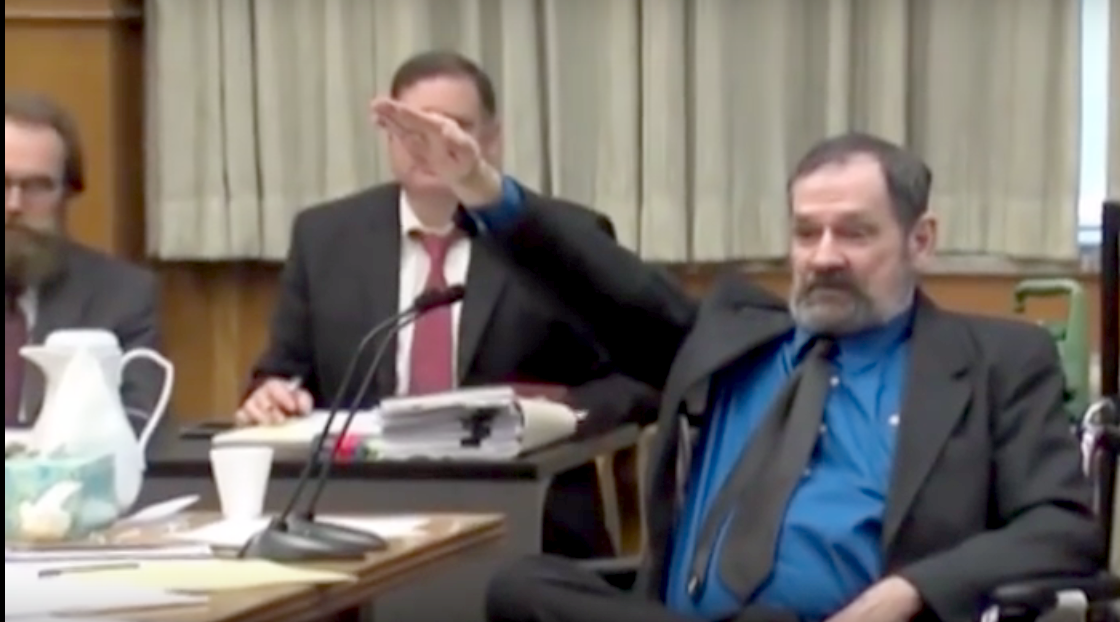 """The """"Atheist"""" Neo-Nazi Just Convicted of Triple Murder Was No Atheist"""