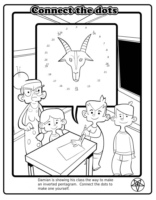 After Satanists Planned to Give Away Coloring Books, Florida ...